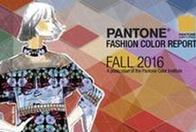Pantone Fashion Color Report Fall 2016 / FALL 2016: A Unity of Strength, Confidence and Complexity The desire for tranquility, strength, and optimism have inspired a Fall 2016 color palette that is led by the Blue family. Along with anchoring earth tones, exuberant pops of vibrant colors also appear throughout the collections. Transcending gender, these unexpectedly vivacious colors in our Fall 2016 palette act as playful but structured departures from your more typical fall shades.