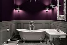 TREND - Plum and Purple / We love luxurious Plum mixed with tones of purple. Glamorous and sensual, be ready for those winter months with a colour combination inspired by the rich and dramatic elements of nature. http://soak.com/