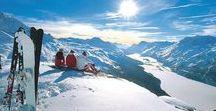Wintersportorte / Hier finden Sie die schönsten Wintersportorte in den Alpen