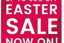 Easter sale - up to 60% off! / EASTER SALE! - Up to 60% off sitewide savings! Shop now - http://soak.com/