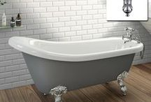 STYLE - Roll Top Bath, A Timeless Classic / A roll top bath is quite simply a timeless classic and one of our top selling products here at soak.com. We're going to take a look and explore all the different options and discover exactly why everyone dreams of a freestanding luxurious roll top bath... http://soak.com/