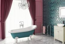 "STYLE - Peacock / ""Teal-green: where it is a combination of blue/green but where the green is stronger with a hint of grey"" We've combined the gorgeous new limited edition teal freestanding bath from soak.com with a peacock themed room to create a luxurious, glamorous theme."