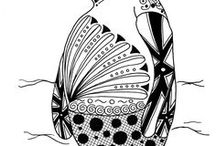 Adult Zentangle Coloring Pages / Free adult coloring pages for those that love the zentangle style
