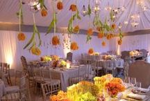 Table Scapes and Centerpieces / Wedding and Event table decor