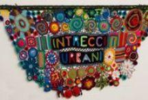 Intrecci Urbani - Yarn Bombing a Genova / Direzione Artistica