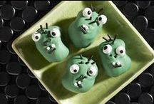 Frightfully Sweet / These sweet treats are so yummy and easy it's downright spooky. Ghoulishly fun to make and eat, they are guaranteed to make any Halloween fright fest a total scream. Don't be surprised if guests haunt you for the recipes.
