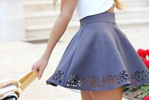 Skater skirts / Doncha just luv 'em?