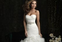 Mermaid Wedding Dresses / A very flattering shape