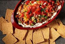 Kickoff Great Taste / Start your Big Game celebration on a delicious note with these simple & savory dip ideas.   / by Nabisco