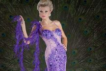 Gowns in purple / All shades of purples and lavenders