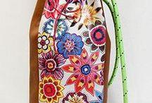 """MODELO Mochila / MODELO Mochila. Mochila de piel hecha a mano, pieza única, no hay dos diseños iguales. """"La imperfección los hace únicos"""" Shop online www.gloriaca.com Blog www.elblogdegloriaca.com"""