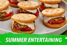 Summer Entertaining / The recipe for any fun summer gathering is to keep it simple. Here we've gathered just some of our favorite, yummy, go-to treats that will have you looking for any excuse to get friends and family together all season long. / by Nabisco