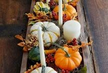 M O O D |  Thanksgiving / All About Thanksgiving - Ideas and Inspiration for Fall Decorations, Super-Moist Turkey Recipes (Along with Appetizers, Sides, Desserts, And Drinks), Favors, And Some More...