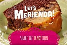 Share the Tradition! / Celebrate the flavors of Hispanic Heritage Month! It's the perfect time to share the merienda tradition with your kids or your comadres!