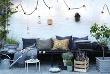 HAVENS SIDDEPLADSER / En god have er fyldt med siddepladser af forskellig art. På samme måde som vi i vores huse måske har spisebordsstolen ved spisebordet, sofa i stuen, barstolen i køkkenet...