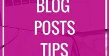Blog Posts Tips