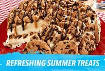 Refreshing Summer Eats / Looking for tasty treats to serve on a hot day?  These recipes are as refreshing as a cool summer breeze and leave you plenty of time to chill with your friends and family. / by Nabisco