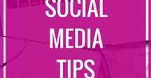 Social media for bloggers / Social media, Instagram tips, Pinterest Tips, Twitter tips, Social media for bloggers