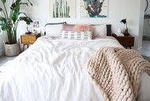 H O M E | Bedroom / Bedroom design and inspiration