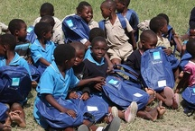 Swaziland / June 2009 - The birth of School in a Bag - 32,000 SchoolBags were handed out to orphan children in Swaziland in conjunction with ShelterBox.