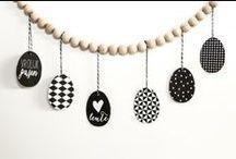 #DIY met pasen / DIY pasen. Zelfmakers voor met de pasen. Van slingers tot aan beschilderde eieren.