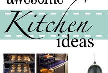 Kitchen Storage & Decorating Ideas