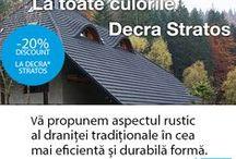 De ce să alegi Țigla Metalică Decra / Câteva dintre motivele pentru care clienții noștri aleg Decra http://www.decra.ro/produse/acoperisul-decra.aspx  Le mulțumim pentru încredere și ii asigurăm că au făcut cea mai buna alegere!