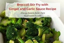 Vegetable & Plant Based Recipes / Vegetable and plant based recipes. Main entrees and side dish recipes featuring vegetables. Some recipes might need to be adapted to suit your allergen needs. Visit my blog at www.NutFreeWok.com for Allergy Aware Asian Fare
