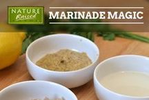 Marinades and Seasonings / Marinades accentuate flavor and help tenderize different cuts of meat. Try these easy-to-make, at-home recipes that can be made by anyone and put on just about anything!