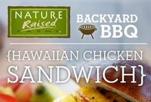 Backyard BBQ / Stay healthy this summer while still eating delicious food with these great Backyard BBQ recipes!