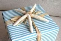 Gifts and Wrapping Ideas / by Polly O'Brien
