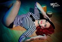 Pin Up Pretty / old school & new school pin up ladies! So much prettiness and hotness going around!