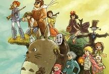 Anime, Manga, and of course, Ghibli / by Marissa Kiser