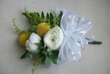 Corsages and Boutonnieres / From Proms to Weddings- Show off your personality!