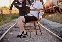 Engagement Photo Shoot Ideas / Different Photoshoot ideas and photo fashion.  / by Lady Rein