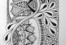 Inspiring Art   ink art   watercolour   collage   journal