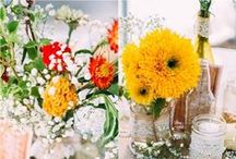 Wedding Flowers / Wedding flowers for the big day from McAdams Farm.