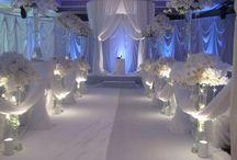 White Wedding / All white wedding ideas  / by Lady Rein