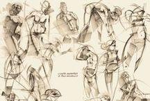 Menschen zeichnen / Bei der Zeichnung eines Menschen sind dessen Proportionen am wichtigsten.  Hier finden Sie eine Sammlung an Tutorials, Beispielen und gezeichneten Werken, die den Mensch als Vorlage haben.  Weitere tolle Infos zu diesem Thema gibt es hier: http://www.kunstplaza.de/tipps-fuer-kuenstler/menschen-zeichnen/