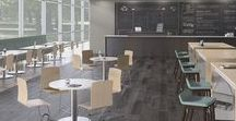 Education - Socialize / Places to take a break, have a meal, and have a conversation, with seating configurations that welcome you in and encourage you to stay a while.