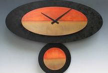 Clocks, Studio Seven Arts / Hand crafted one of a kind clocks for your home and office from Wallkill NY