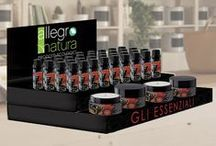 Allegro Natura Bio / Nuova linea #AllegroNatura #Bio #CosmesiNaturale #DetergentiEcologici #Candele #OliEssenziali