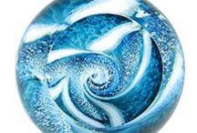 Glass Eye Studio, Studio Seven Arts / Hand blown glass from Glass Eye Studio from Seattle Washington