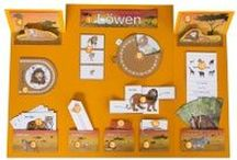 Lion Lapbook for Preschool & Kindergarten Children / Each lapbook from KiGaPortal.com teaches children in early childhood about a different animal. Perfect for homeschooling, classroom activities and enrichment programs! Also available in German and Italian! / by KiGaPortal