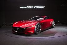 Mazda concepts / Mazda concepts, prototypes, and show cars.