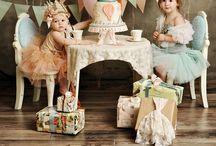 Birthday party idea's / Luna's first birthday bash!