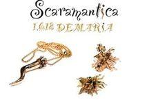 Scaramantica Collection / Collezione che chiama buona fortuna. Silver Collection for have good luck.