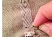 pin weaving / illustrations