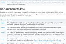 Web Standards / Sites full of useful resources and informational references for web development.