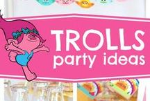 Trolls party stuff